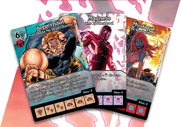 Marvel Dice Masters: The Brotherhood Promo Cards