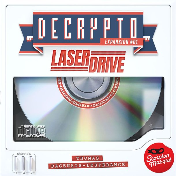 Decrypto: Expansion #1 – Laserdrive