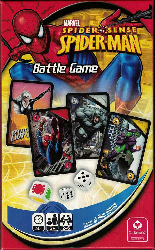 Marvel Spider-Sense Spider-man Battle Game