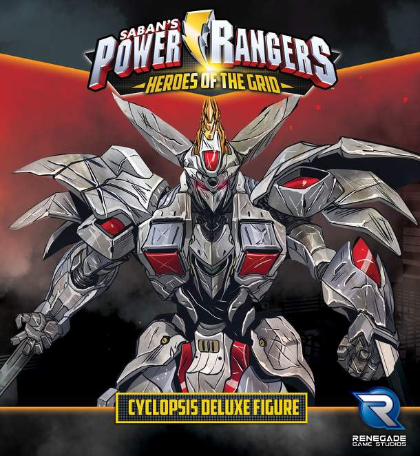 Power Rangers: Heroes of the Grid – Cyclopsis Deluxe Figure