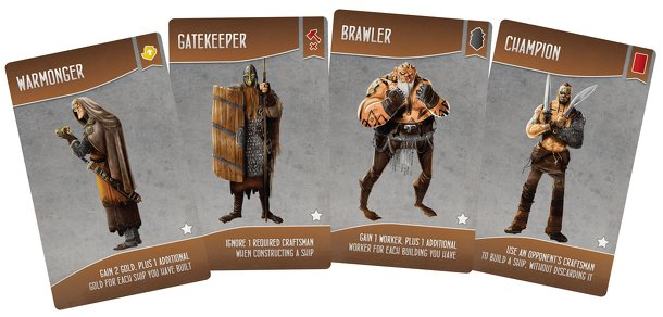 Shipwrights of the North Sea: Garphill Games 5-Year Anniversary Promos