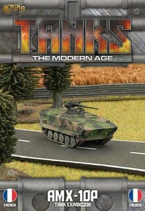 TANKS: The Modern Age – AMX-10P Tank Expansion