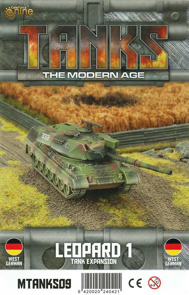 TANKS: The Modern Age – Leopard 1 Tank Expansion