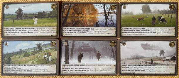 Scythe: Bonus Promo Pack – 6 Promo Encounter Cards numbers 37-42