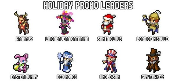 Pixel Tactics: Holiday Heroes