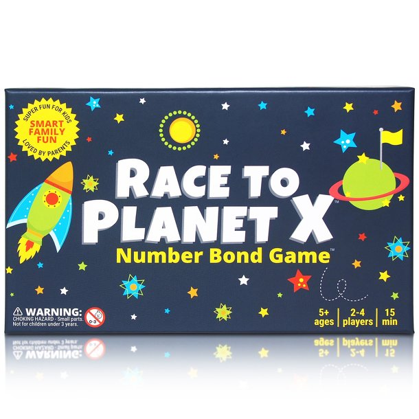 Race to Planet X: Number Bond Game