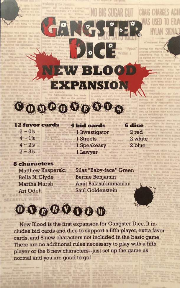 Gangster Dice: New Blood