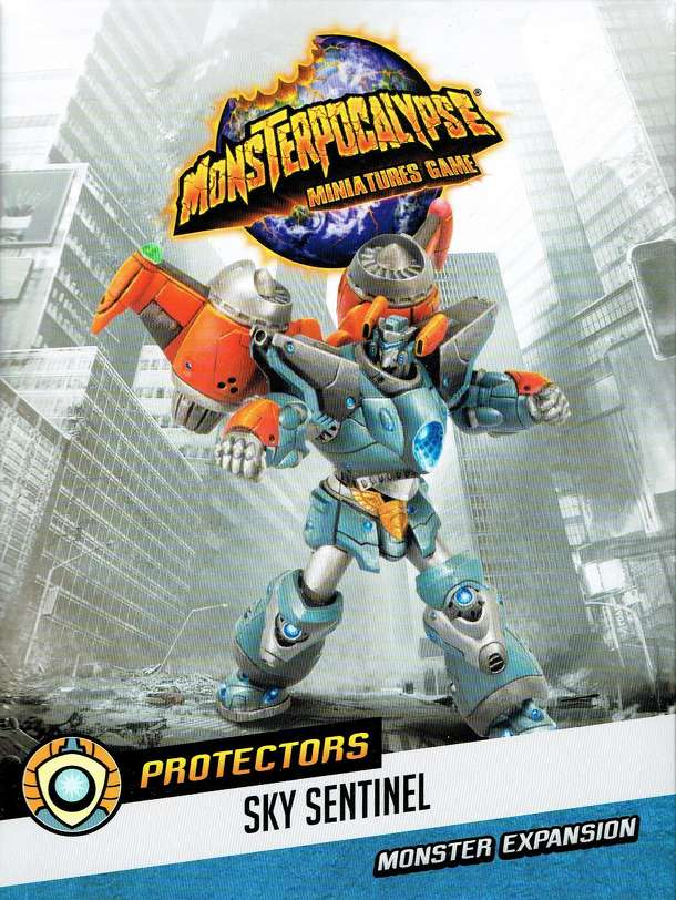 Monsterpocalypse Miniatures Game: Protectors G.U.A.R.D. Monster – Sky Sentinel