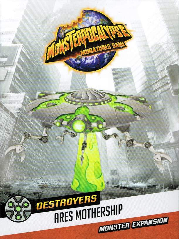 Monsterpocalypse Miniatures Game: Destroyers Martian Menace Monster – Ares Mothership