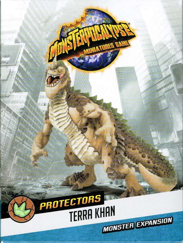 Monsterpocalypse Miniatures Game: Protectors Terrasaurs Monster – Terra Khan