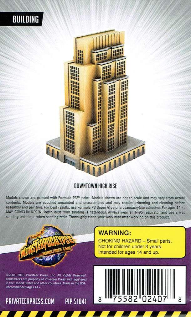 Monsterpocalypse Miniatures Game: Building – Downtown Highrise