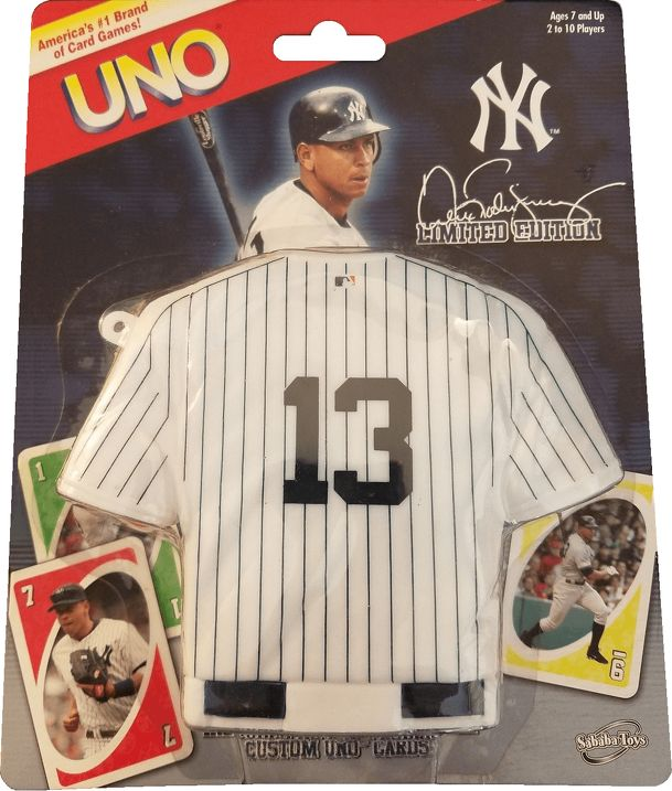 UNO: Alex Rodriguez Limited Edition