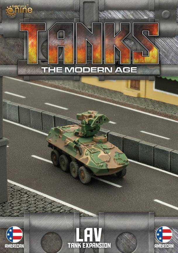 TANKS: The Modern Age – American LAV Tank Expansion