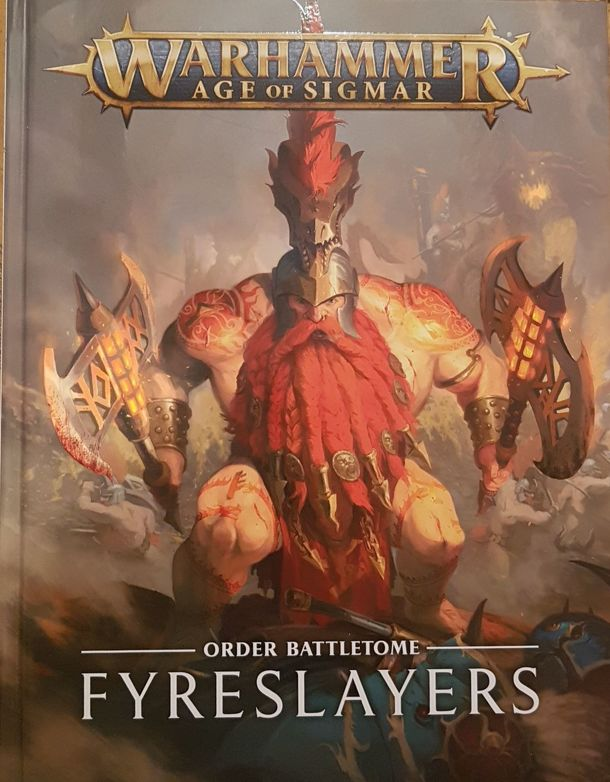 Warhammer Age of Sigmar: Battletome Fyreslayers