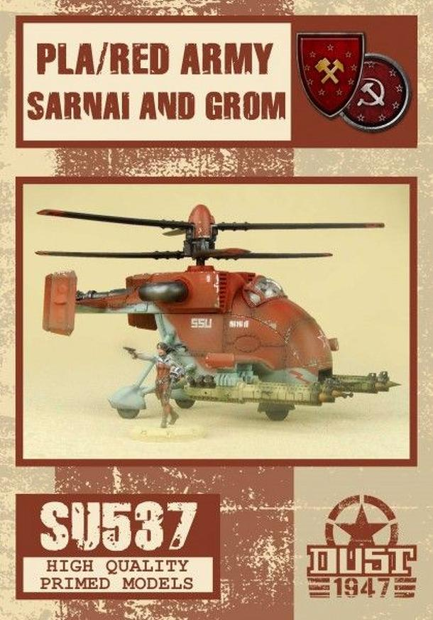 Dust 1947: PLA/Red Army Sarnai and Grom