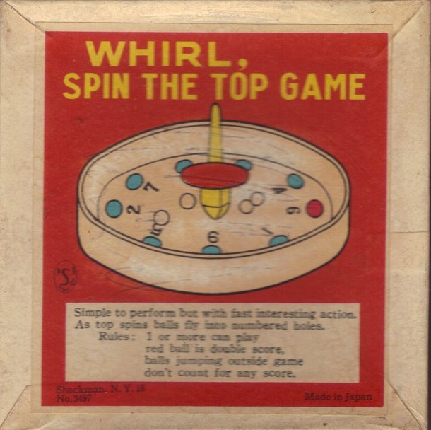 Whirl, Spin the Top Game