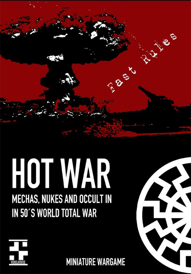 HOT WAR: mechas, nukes and occult in in 50´s world total war