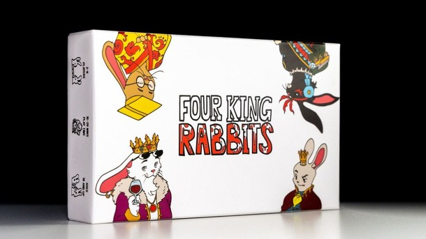 Four King Rabbits