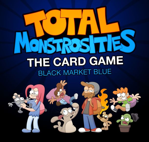 Total Monstrosities the Card Game: Black Market Blue
