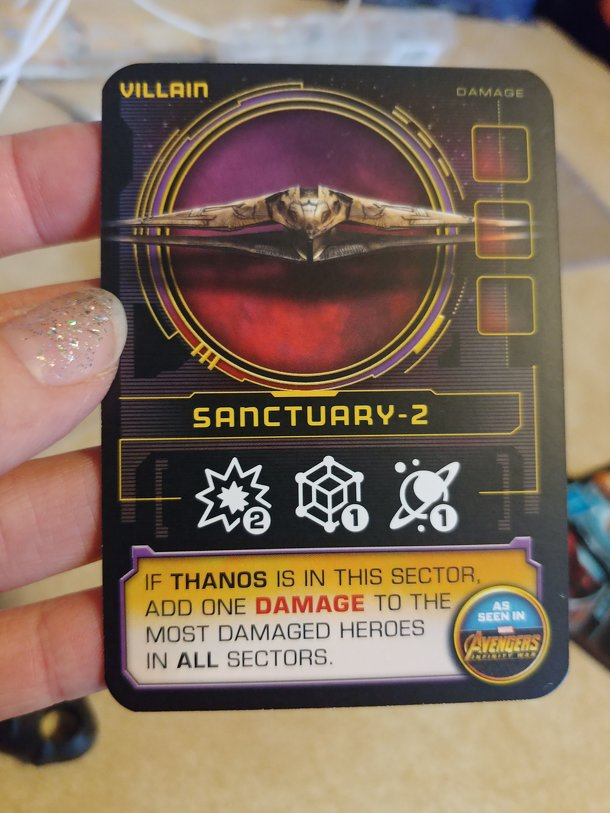 Thanos Rising: Avengers Infinity War – Sanctuary-2 Promo Card