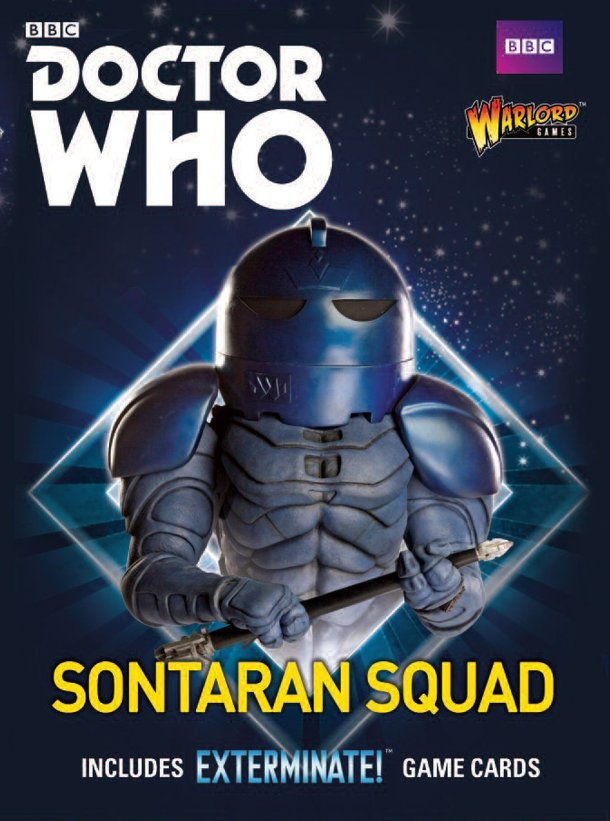 Doctor Who: Exterminate! The Miniatures Game – Sontaran Squad