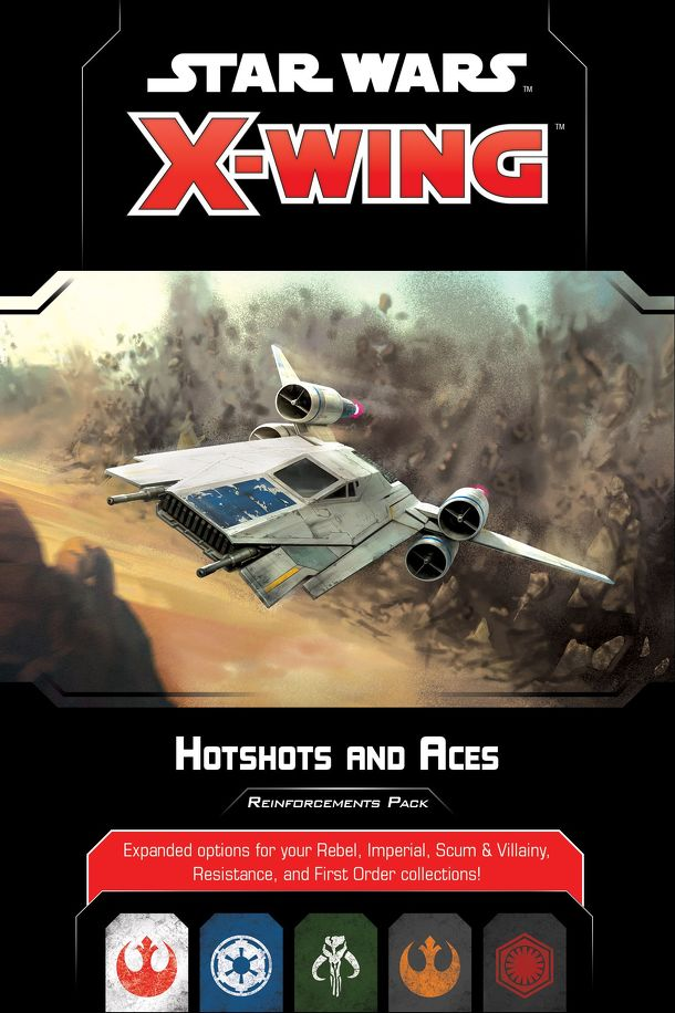 Star Wars: X-Wing (Second Edition) – Hotshots and Aces Reinforcements Pack