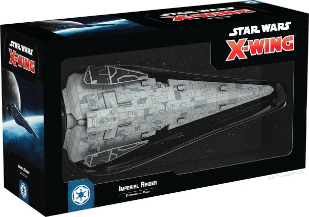 Star Wars: X-Wing (Second Edition) – Imperial Raider Expansion Pack