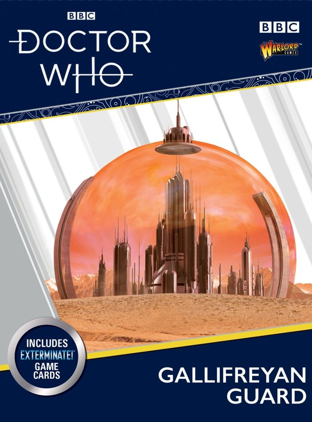 Doctor Who: Exterminate! The Miniatures Game – Gallifreyan Guard