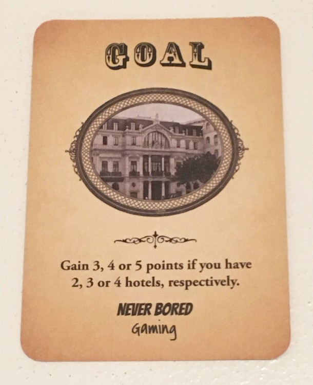 Railways of Portugal: Hotel Magnate Promo Card