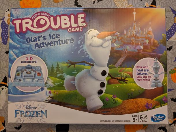 Trouble: Disney Frozen Olaf's Ice Adventure Game
