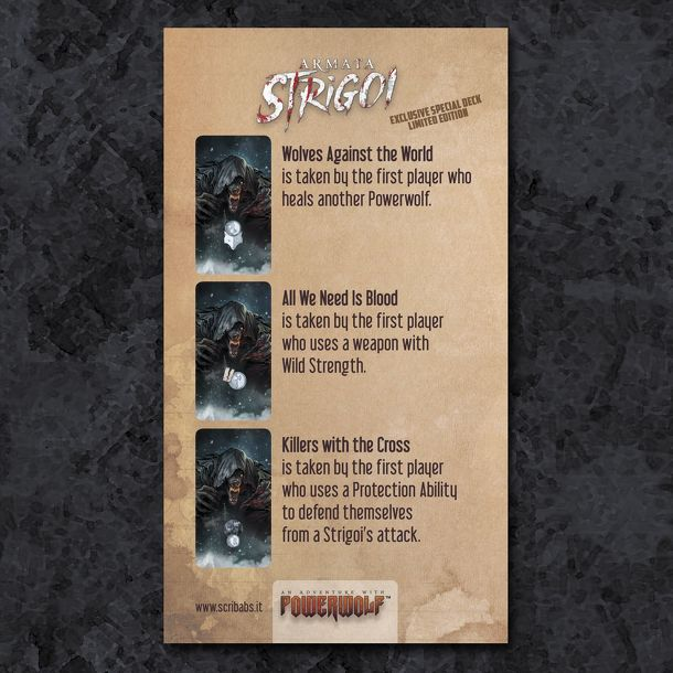 Armata Strigoi: Limited Deck Expansion + Handmade Painted Set