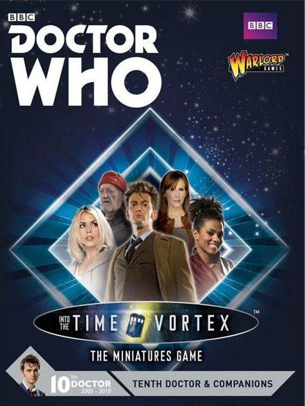 Doctor Who: Exterminate! The Miniatures Game – Tenth Doctor & Companions