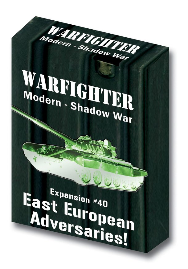 Warfighter: Expansion #40 – East European Adversaries!