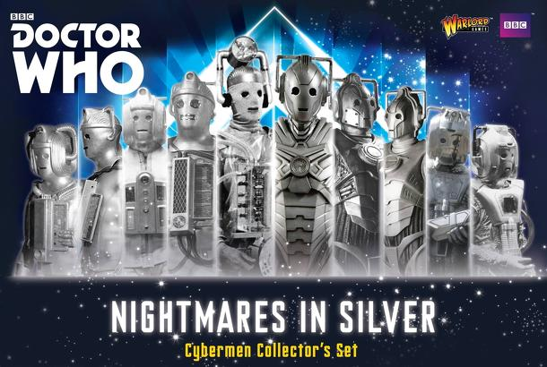 Doctor Who: Exterminate! The Miniatures Game – Nightmares in Silver