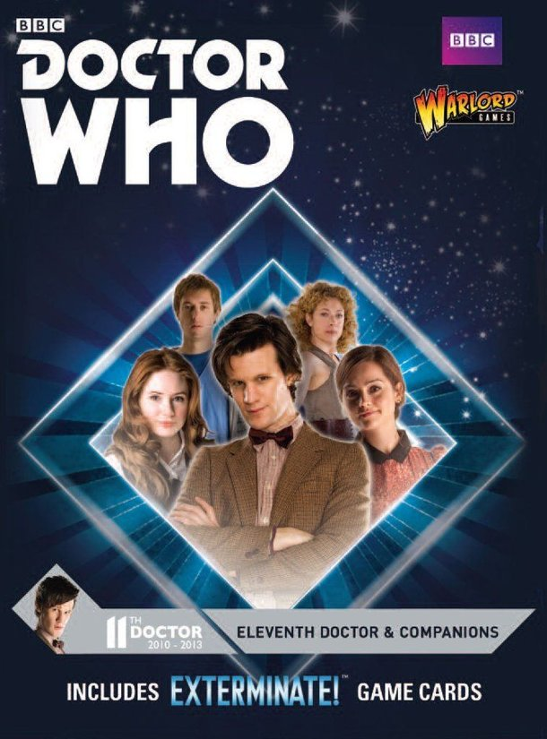 Doctor Who: Exterminate! The Miniatures Game – Eleventh Doctor & Companions