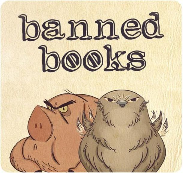 Banned Books: Animals – Old Major & Tango