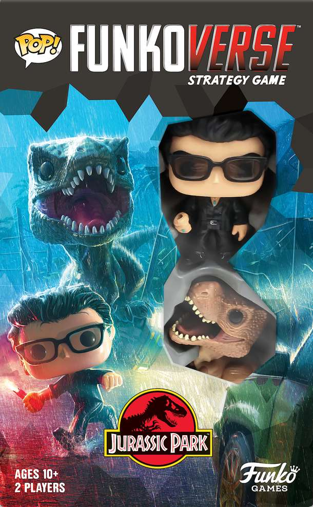 Funkoverse Strategy Game: Jurassic Park 2-Pack