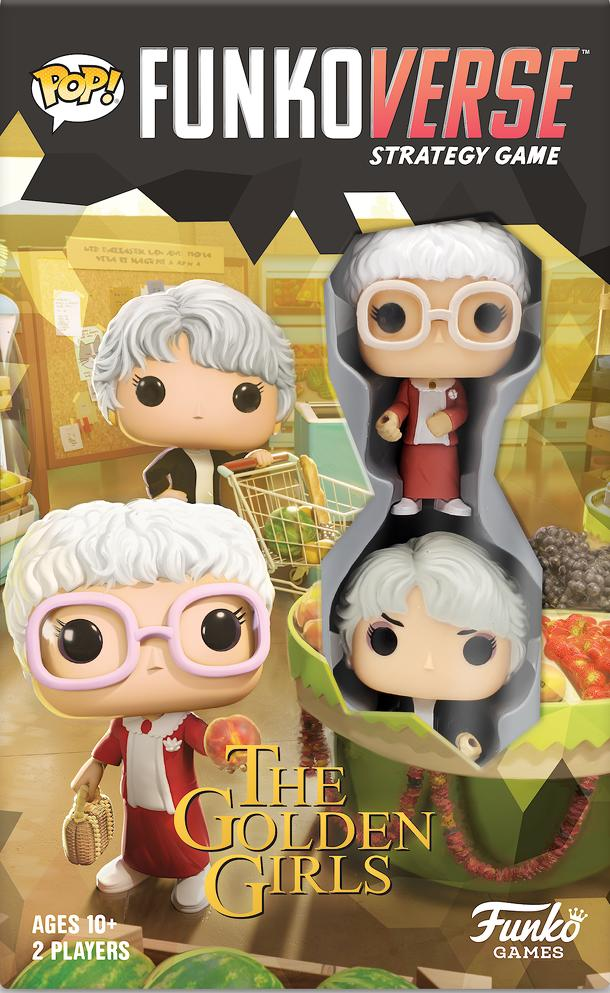 Funkoverse Strategy Game: Golden Girls 2-Pack – Dorothy and Sophia