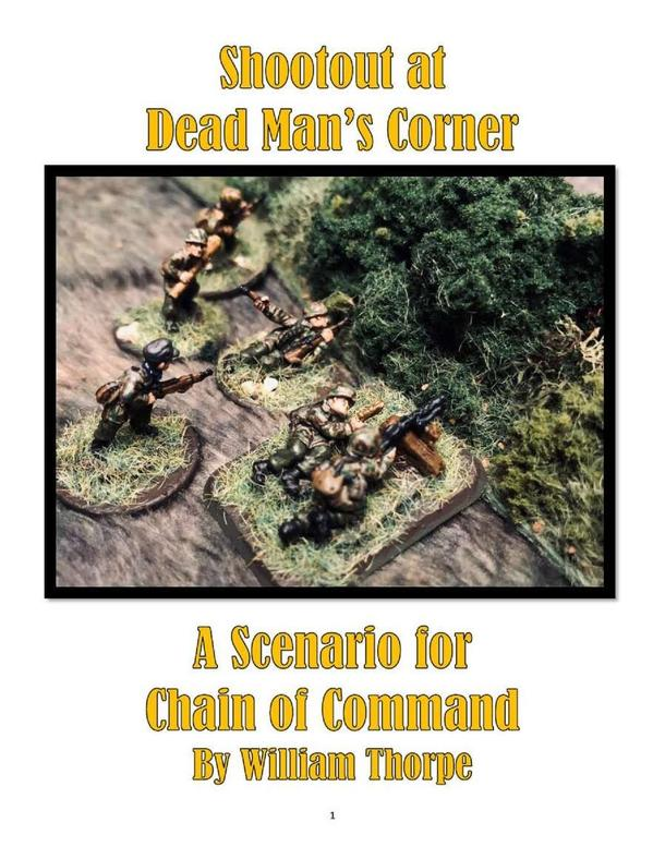 Chain of Command: Shootout at Dead Man's Corner – A Scenario for Chain of Command