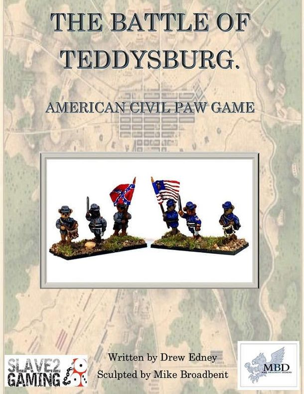 Battle of Teddysburg: American Civil Paw Game