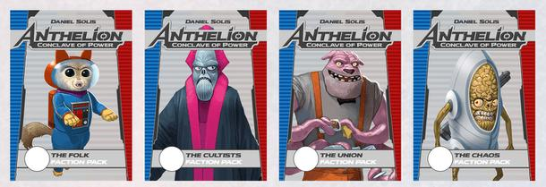 Anthelion: Conclave of Power – The Union Faction Pack