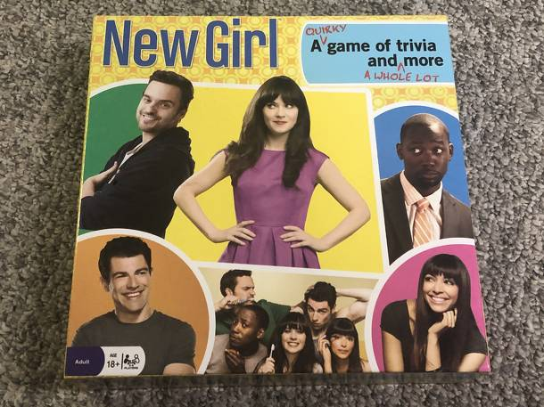 New Girl: A Quirky Game of Trivia and A Whole Lot More