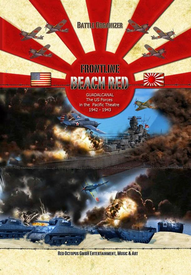 Frontline: Beach Red – Guadalcanal: The US Forces in the Pacific Theatre 1942-1943