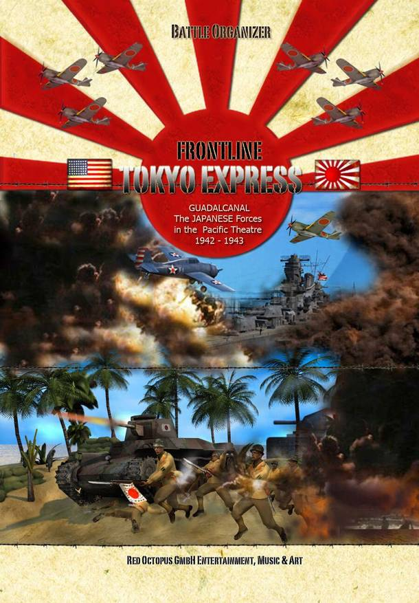 Frontline: Tokyo Express – Guadalcanal: The Japanese Forces in the Pacific Theatre 1942-1943