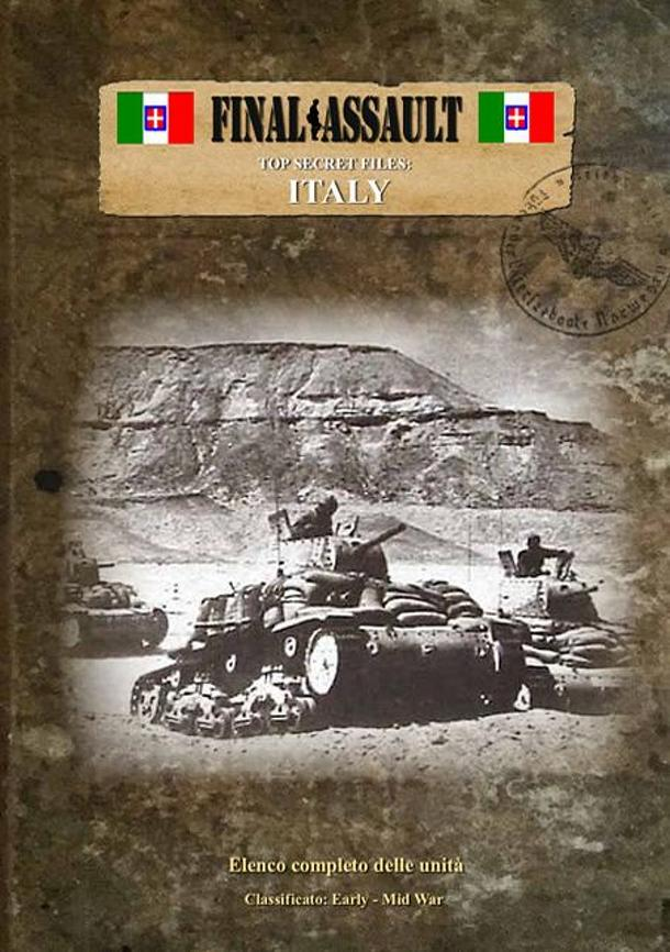 Final Assault: Top Secret Files – Italy: Classified – Early/ Mid/ Late War