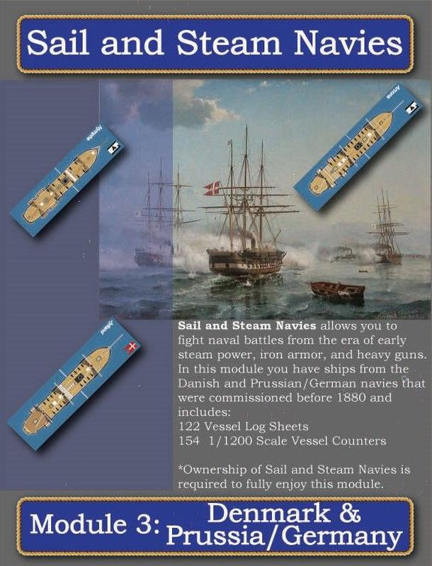 Sail and Steam Navies: Module 3 – Denmark & Prussia/Germany