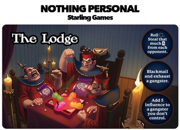 Nothing Personal: The Lodge