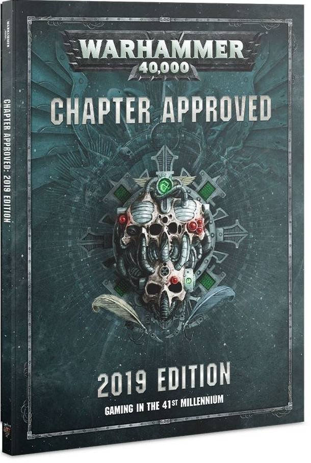 Warhammer 40,000 (Eighth Edition): Chapter Approved – 2019 Edition