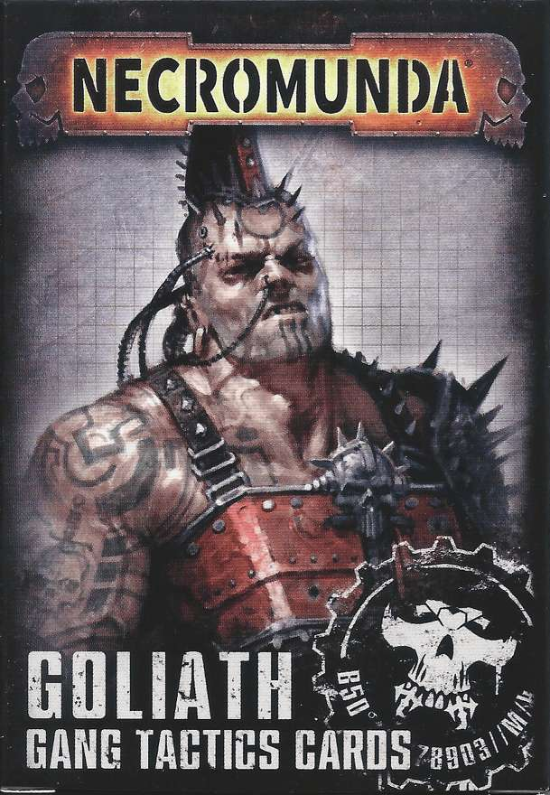 Necromunda: Underhive – Goliath Gang Tactics Cards (Second Edition)
