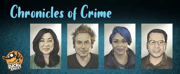 Chronicles of Crime: Dice Tower 2020 Promo Cards
